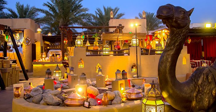 Bab Al Shams Desert Resort Dinner