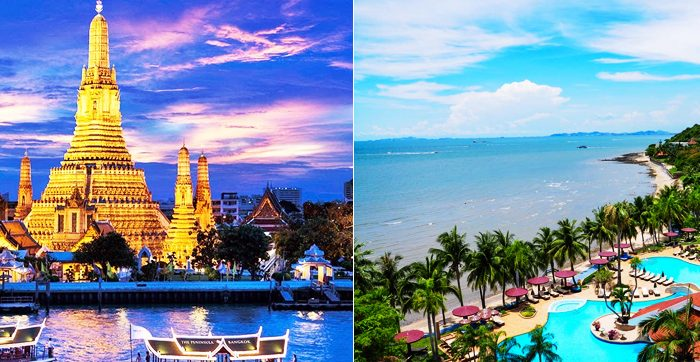 Bangkok Pattaya Package with 3***