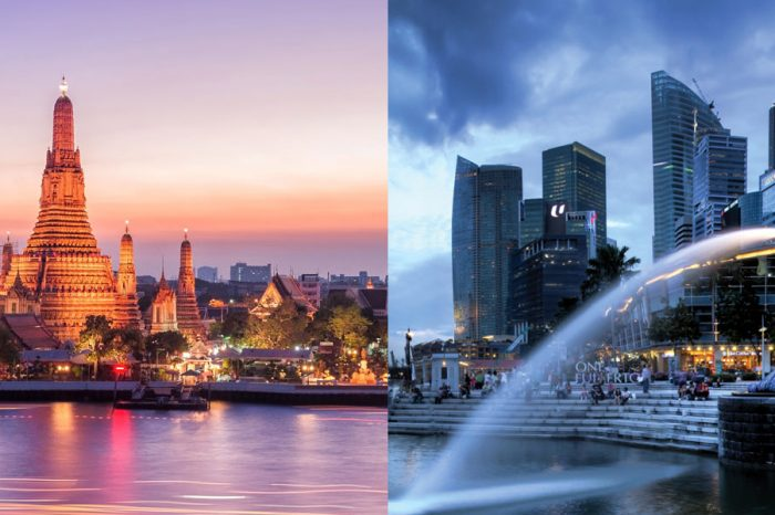 Thailand Singapore Packages with 3***