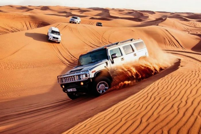 Hummer Desert Safari -6 hours