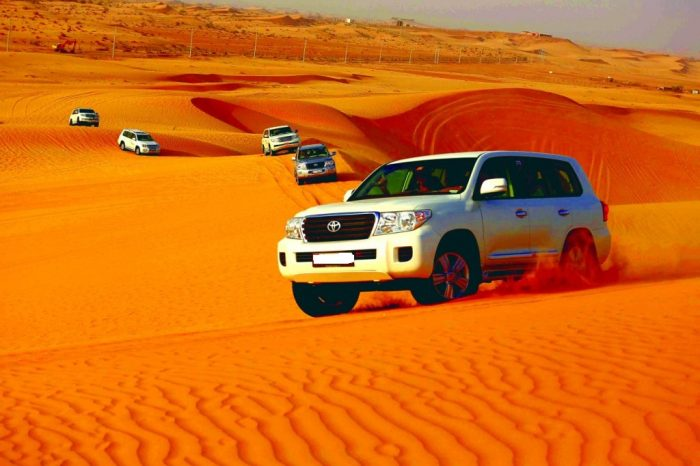 City Tour – Desert Safari -10 hours