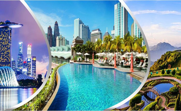 Singapore Thailand Malaysia Packages with 3***