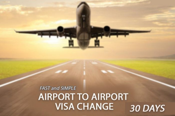 Airport to Airport 30 Days