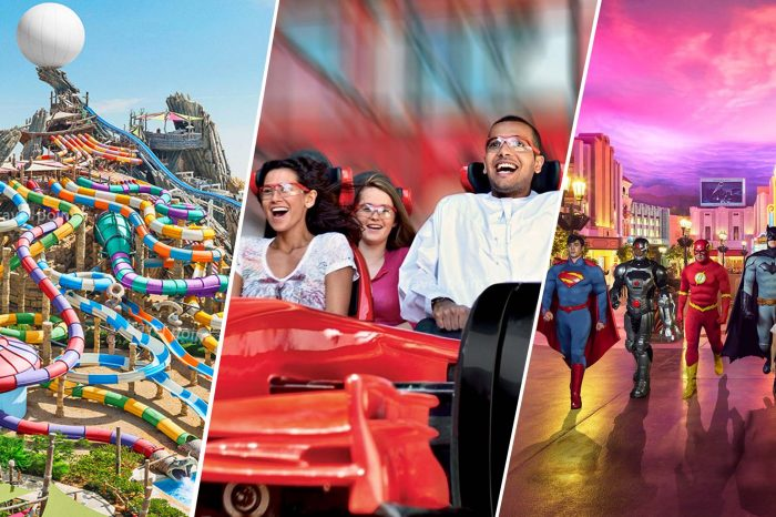 Ferrari World, Yas Water World and Warner Brothers Multiple Pass